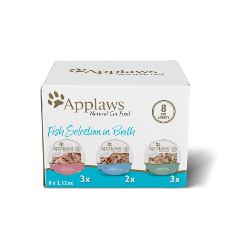 Applaws Fish Selection Multipack Wet Cat Food