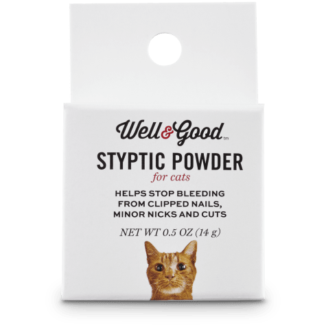 Well & Good Styptic Powder for Cats