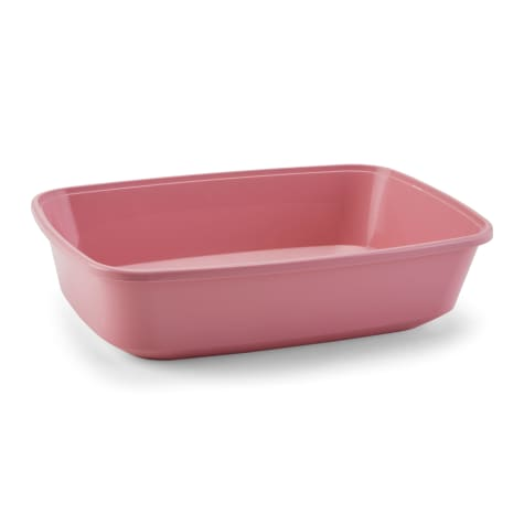 So Phresh Open Kitten Litter Box in Pink