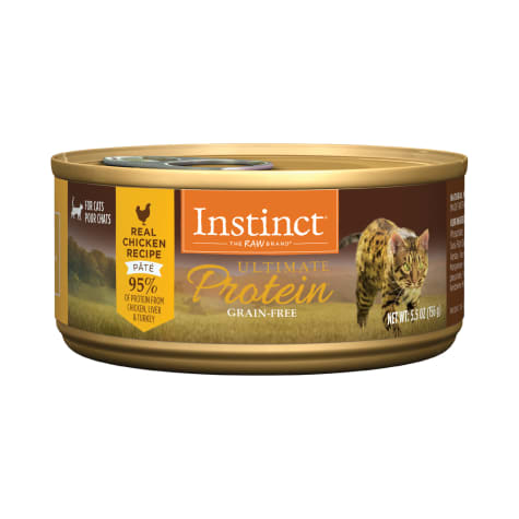 Instinct Ultimate Protein Grain-Free Pate Real Chicken Recipe Wet Cat Food