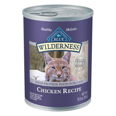 Blue Buffalo Blue Wilderness Chicken Canned Cat Food