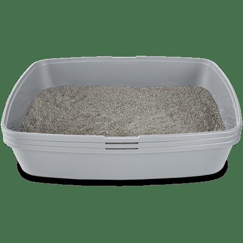 So Phresh Sifting Cat Litter Box in Grey