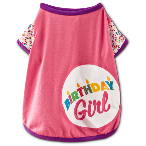 You & Me Birthday Girl T-Shirt for Dogs