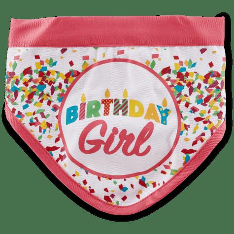 You & Me Birthday Girl Dog Bandana
