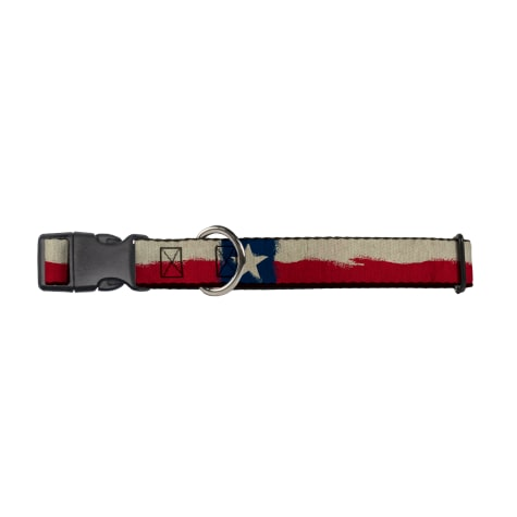 Buckle-Down Texas Flag Dog Collar