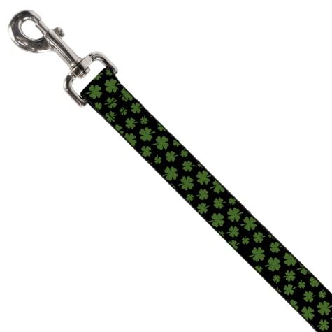 Buckle-Down Irish Clovers Dog Leash