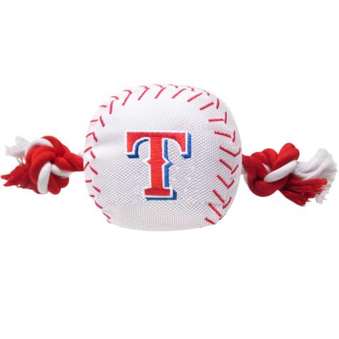 Pets First MLB Texas Rangers Baseball Toy