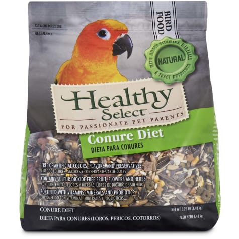 Healthy Select Conure Diet Bird Food