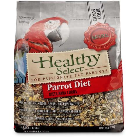 Healthy Select Parrot Diet Bird Food
