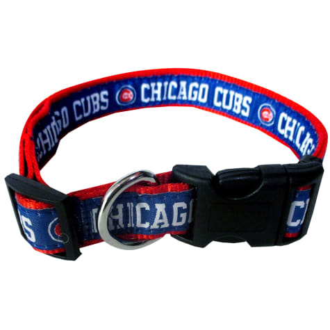 Pets First Chicago Cubs MLB Dog Collar