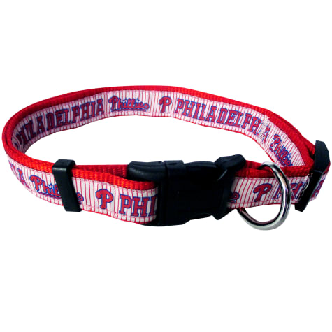 Pets First Philadelphia Phillies MLB Dog Collar