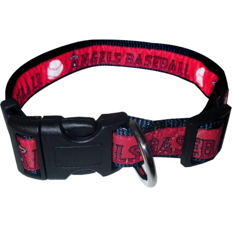 Pets First Los Angeles Angels MLB Dog Collar
