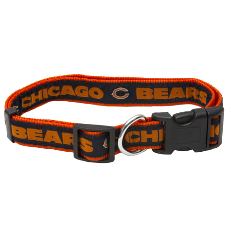 Pets First Chicago Bears NFL Dog Collar