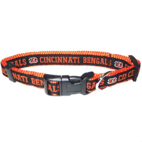 Pets First Cincinnati Bengals NFL Dog Collar