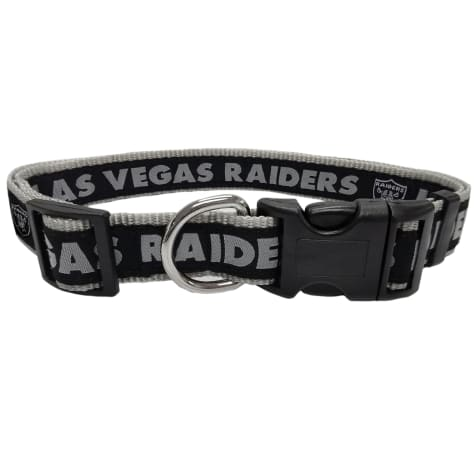 Pets First Oakland Raiders NFL Dog Collar