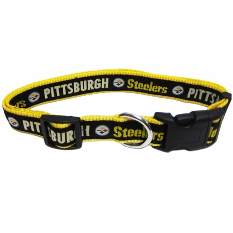 Pets First Pittsburgh Steelers NFL Dog Collar