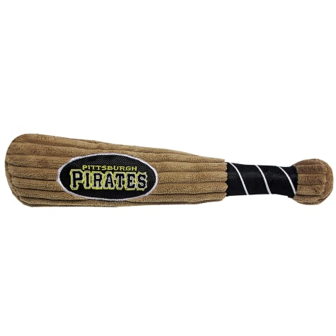 Pets First MLB Pittsburgh Pirates Baseball Bat Toy