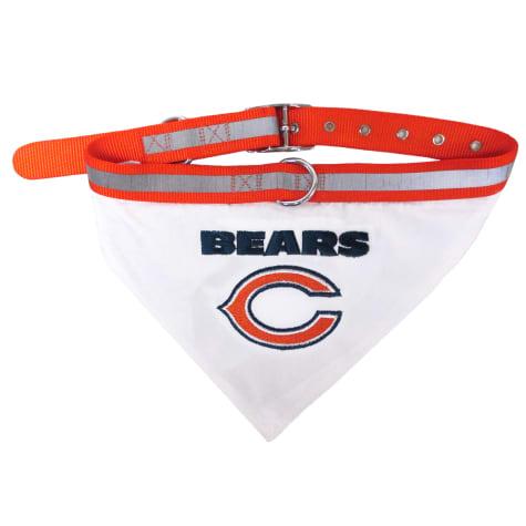Pets First Chicago Bears Collar Bandana