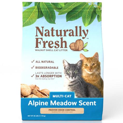 Naturally Fresh Alpine Meadow Scent Multi-Cat Litter