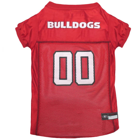 Pets First Georgia Bulldogs Mesh Jersey