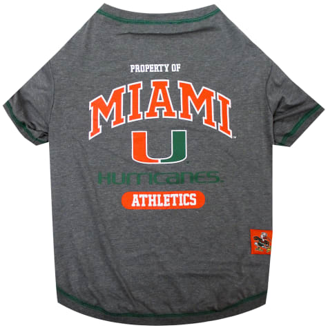 Pets First Miami Hurricanes T-Shirt