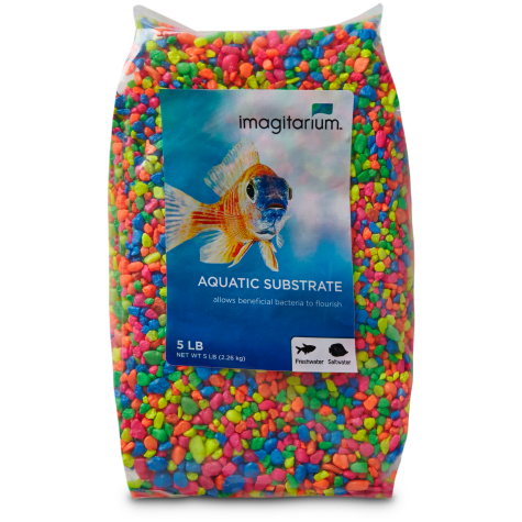 Imagitarium Neon Confetti Mix Aquarium Gravel