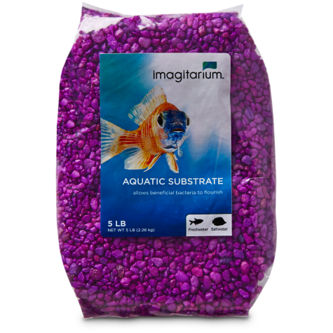 Imagitarium Neon Purple Aquarium Gravel