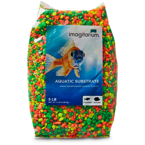 Imagitarium Citrus Burst Aquarium Gravel