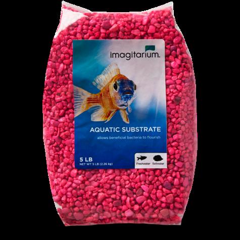 Imagitarium Neon Pink Aquarium Gravel