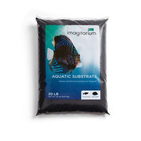 Imagitarium Black Aquarium Sand