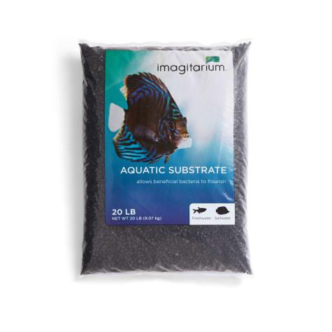 Imagitarium Frosted Black Aquarium Gravel
