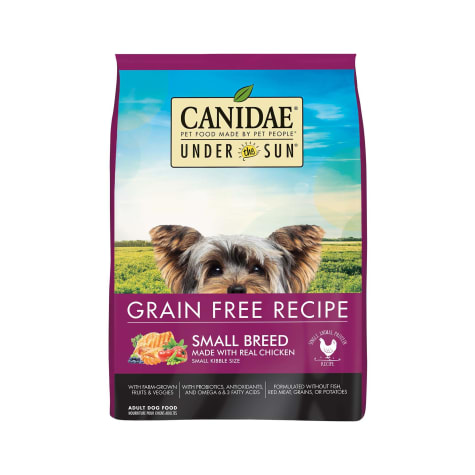 CANIDAE Under The Sun Grain Free Small Breed with Chicken Adult Dry Dog Food