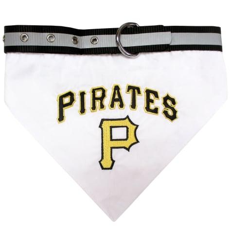 Pets First Pittsburgh Pirates Collar Bandana