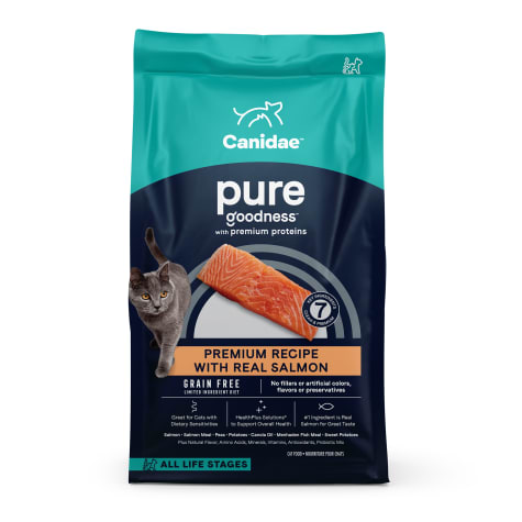 CANIDAE PURE Sea Formula with Fresh Salmon Dry Cat Food