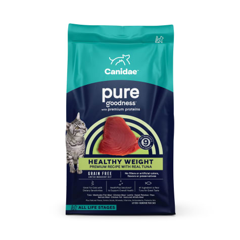 CANIDAE Grain Free PURE Ocean Indoor Cat Dry Formula with Tuna