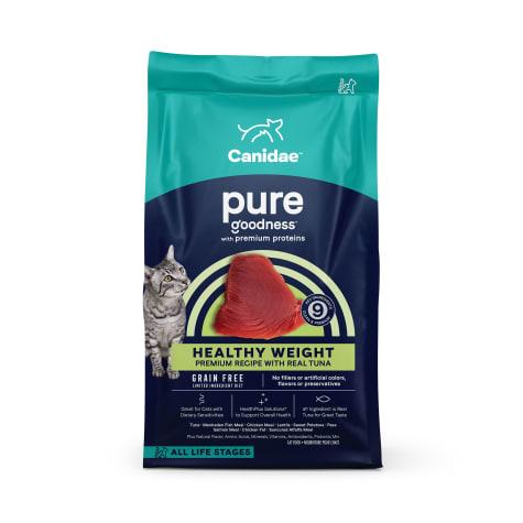 CANIDAE Grain Free PURE Ocean Indoor Cat Dry Formula with Tuna