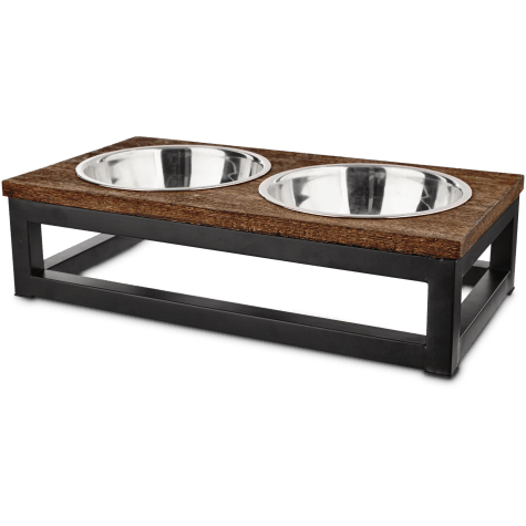 Harmony Elevated Dog Bowl Double Diner