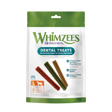 Whimzees Large Stix Dog Treats