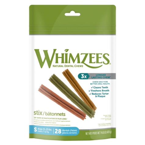 Whimzees Small Stix Dog Treats
