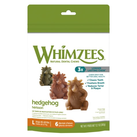Whimzees Large Hedgehog Dog Treats