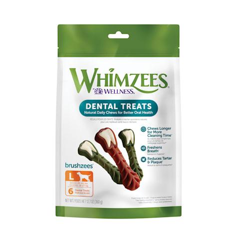 Whimzees Large Brushzees Dog Treats
