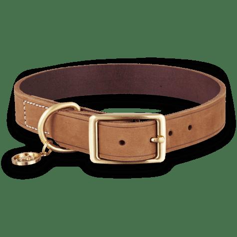 Bond & Co. Copper Suede Dog Collar