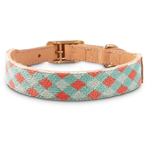Bond & Co. Turquoise & Coral Knot Collar