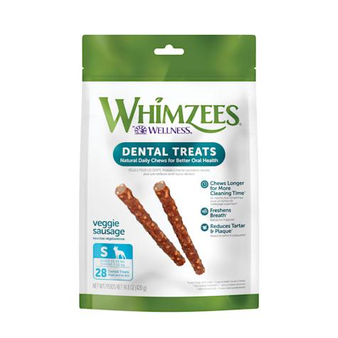 Whimzees Small Veggie Sausage Dog Treats