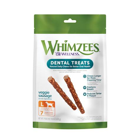 Whimzees Large Veggie Sausage Dog Treats