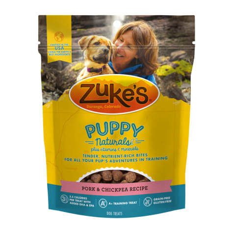 Zuke's Puppy Naturals Pork with Bacon Recipe Dog Treats