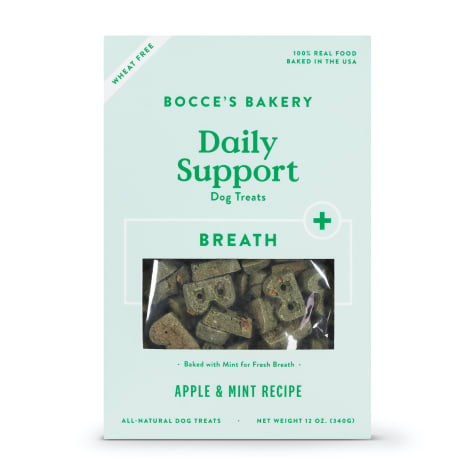 Bocce's Bakery Daily Support Breath Biscuit Dog Treats
