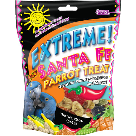 Browns Extreme Spicy Santa Fe Parrot Treat