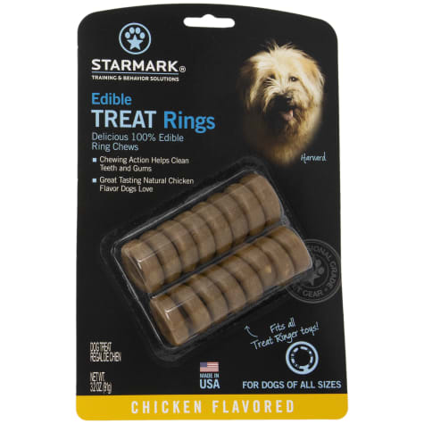 Starmark Dog Edible Treat Rings