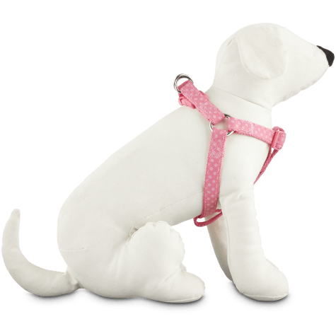 Good2Go Pink Polka Dot Step-In Dog Harness